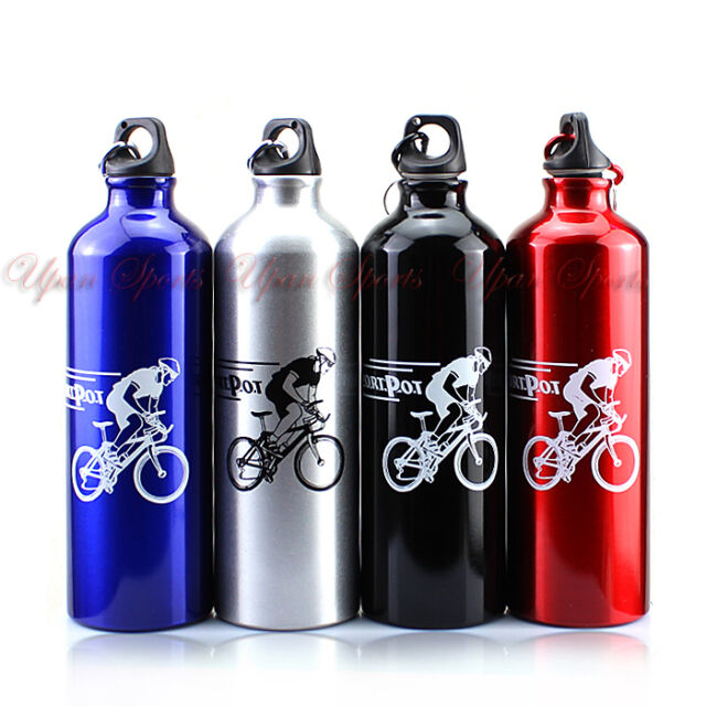 750ml Outdoor Sports Camping Cycling Bike Aluminum Alloy  Water Bottle