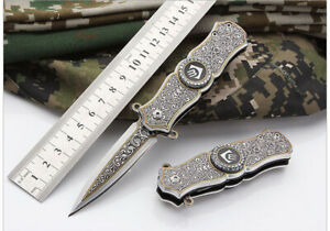 Tactical-Fiexed-Knife-Folding-Survival-Outdoor-Pocket-Blade-Open-Stainless