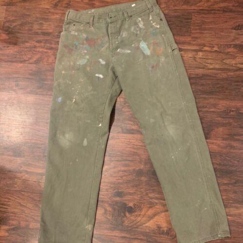 Vintage Painted Dickies Carpetner Pants 34x34