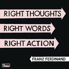 Right Thoughts,Right Words,Right Action [Doppel-CD, Limited Edition] von Franz Ferdinand (2013)