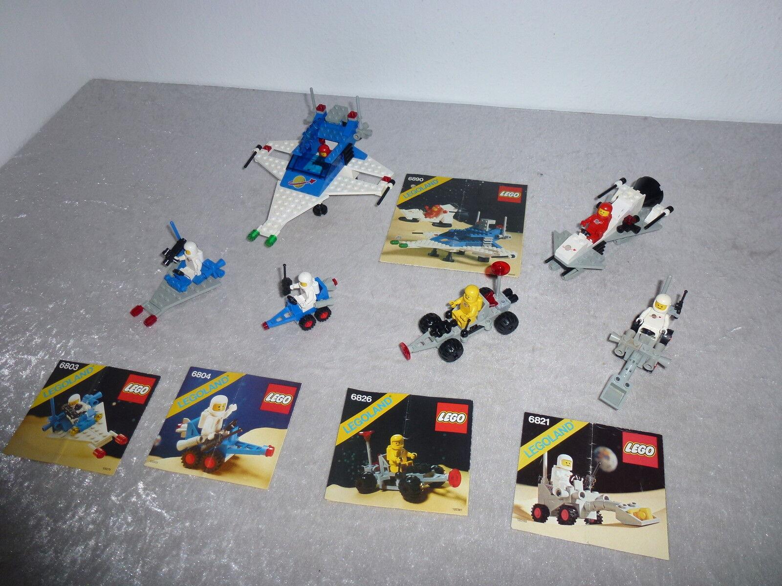 Lego 6890+6821+6803+6826+6804+oba  RARE  de  l'année 1980 85 (7)  nouveau sadie