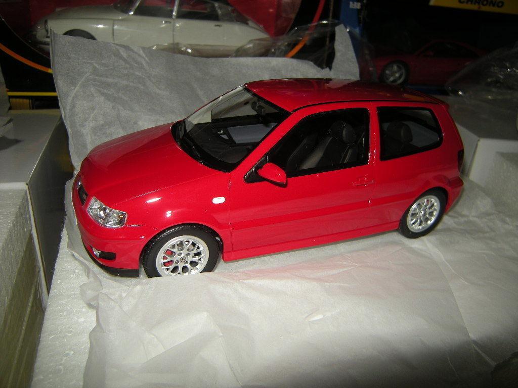 1 18 Otto bilene VW Polo GTI begränsad rödigering 1 av 2000 pcs. in OVP