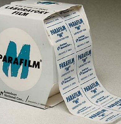 """Parafilm M Laboratory Film 10cm / 4"""" wide, Length 1m, 2m, 5m,10m #E0z6"""