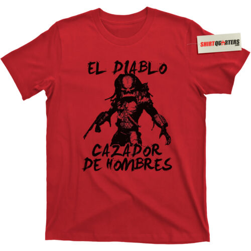 The Predator Shane Black Prequel Super Contra Commando Prometheus movie T Shirt