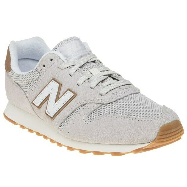 New Mens New Balance Natural 373 Suede Trainers Retro Lace Up