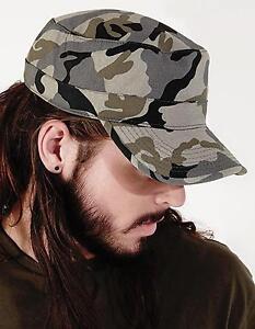 Camo-Army-Cap-Kappe-Muetze-Beechfield