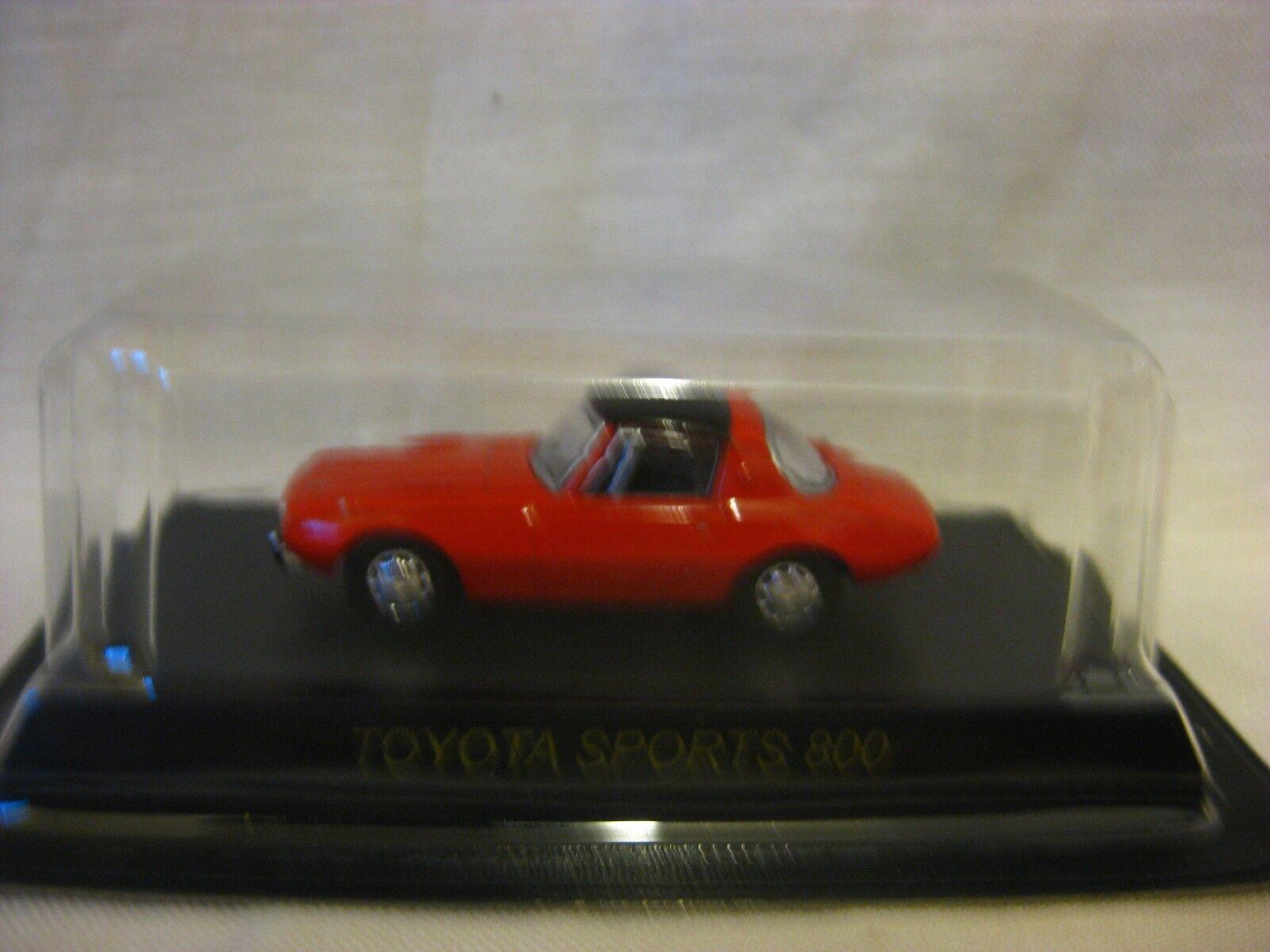 1 64 Kyosho Toyota SPORTS 800 Red Diecast Model Car