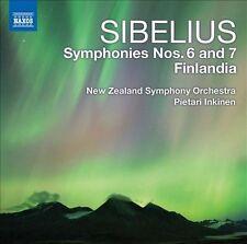 Sibelius: Symphonies 6 & 7; Finlandia, New Music
