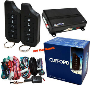 Clifford Matrix 1 2 Remote Car Starter and Keyless Entry 1