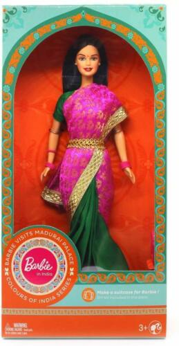 Kids Toys Barbie in India New Visits Madurai Palace Dressed  Colourful Saris RK