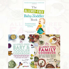 Allergy-Free Collection 3 Books Set Family Cookbook,Baby & Toddler Cookbook New