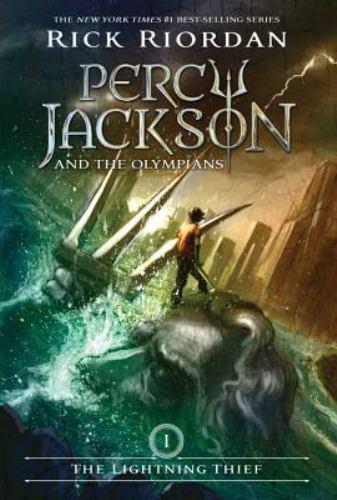 1 of 1 - Percy Jackson and the Olympians The Lightening Thief Rick Riordan