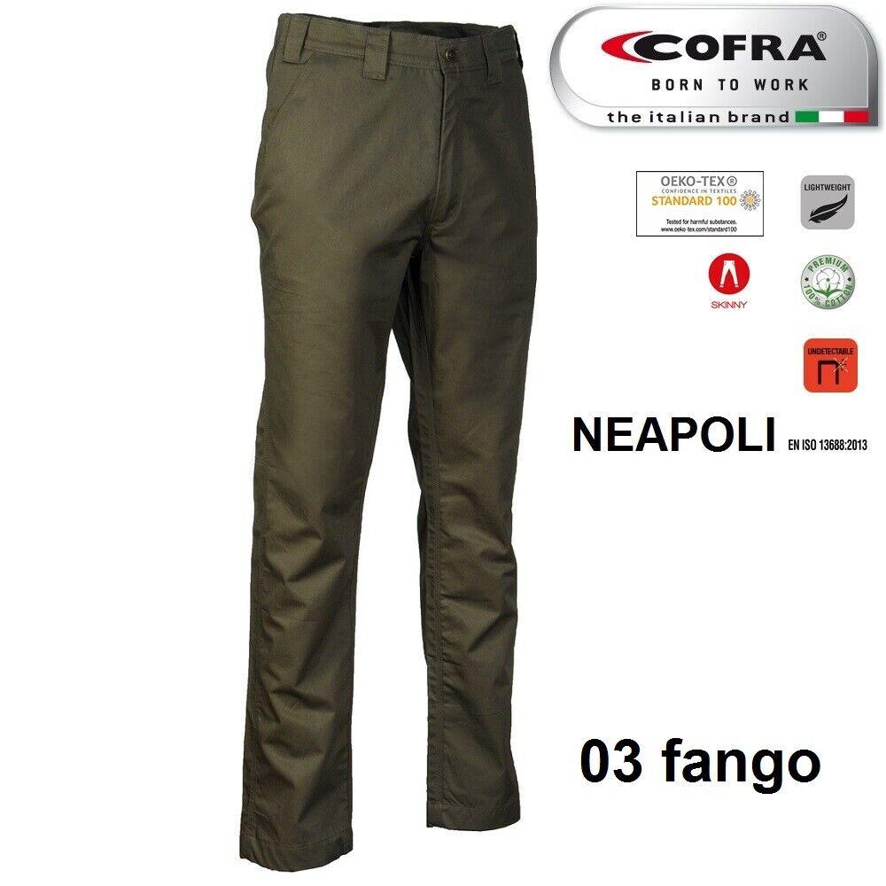 Immagine 8 - Pantaloni da lavoro COFRA modello NEAPOLI edilizia industria logist 100% cotone