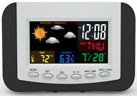 Tech Tools Weather Station Digital Month/day/date Alarm Clock Pi-3332 on sale