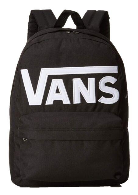 VANS Old Skool II Rucksack Black White Backpack School Casual Smart Work Bag 69d484b8c67
