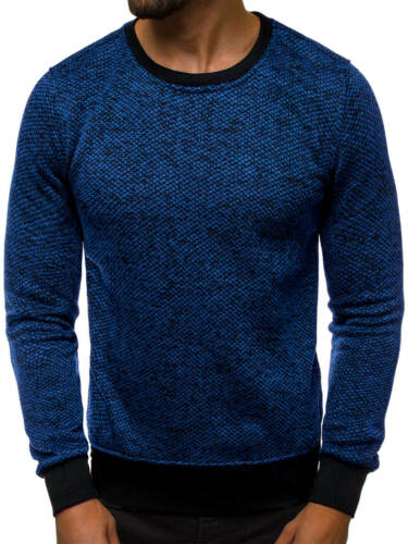 Sweatshirt Pull Sweatjacke Chemise manches longues classic OZONEE js//2001-30 Hommes