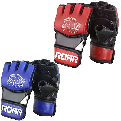 ROAR Focus Pad and Boxing Gloves MMA Muay Thai Hook Jab Mitts Punching Bag 8oz