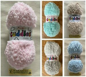 KNITTING WOOL CUDDLES CHUNKY by King Cole Super Soft Quality KNITTING /& CROCHET