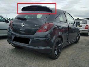 Opel Vauxhall Corsa D 3d 3 Doors Rear Roof Spoiler Vxr