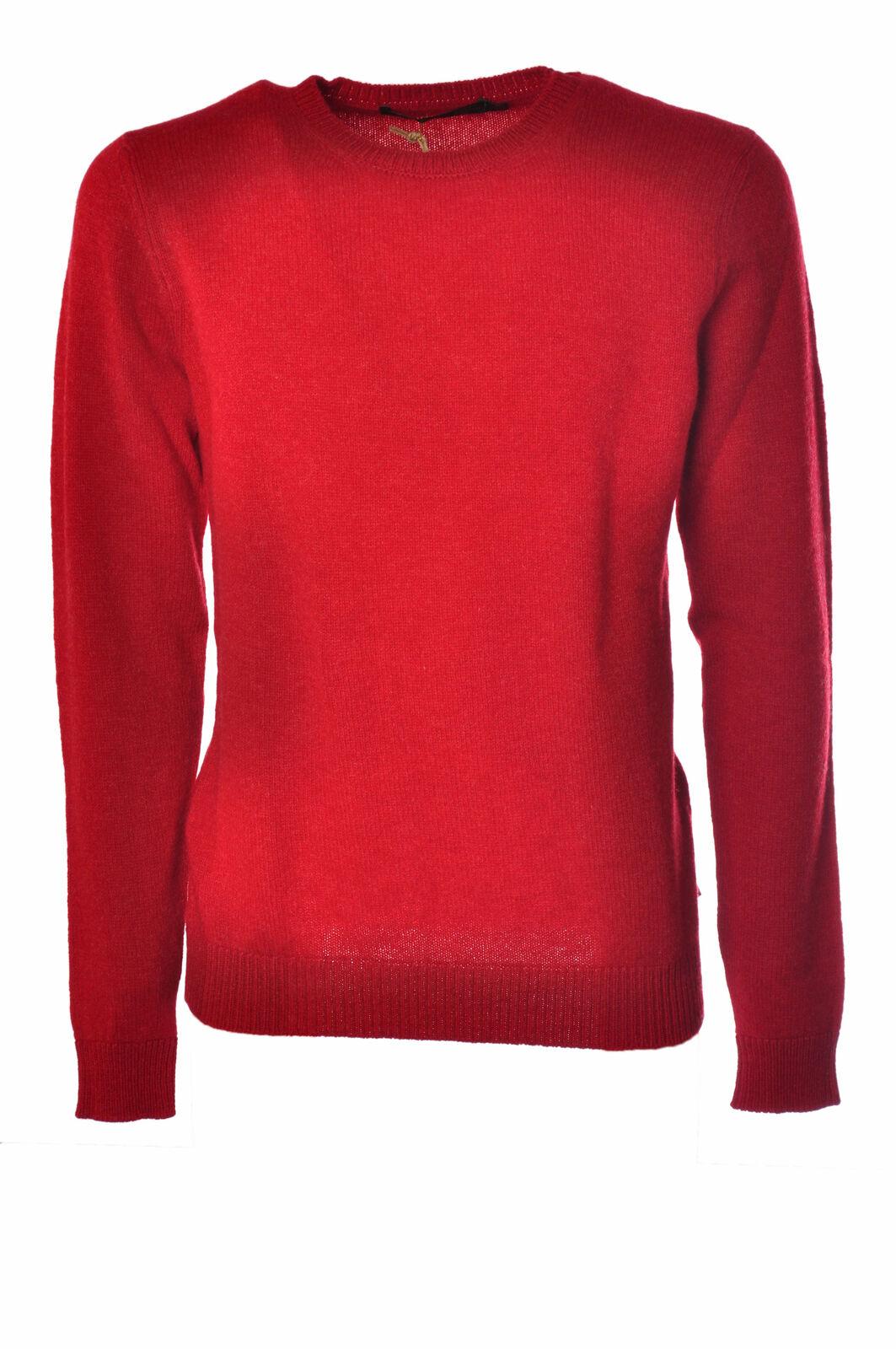 Irish Crone  -  Sweaters - Male - Red - 2508026N173809