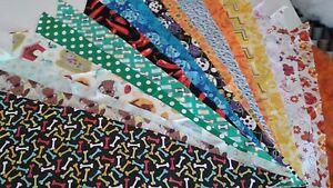 12-Dog-Grooming-Bandana-Scarf-Tie-On-Custom-made-by-Linda-Tie-On-M