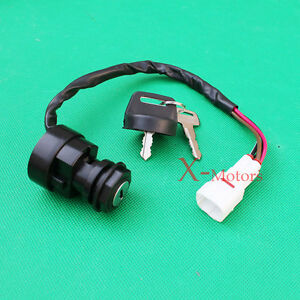 4 wire ignition key switch yamaha yfm 350 warrior banshee ... wiring diagram for yamaha warrior 350 #5