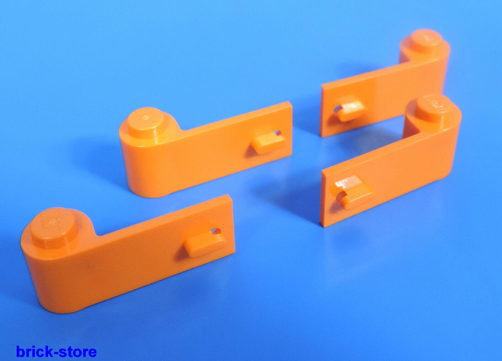 Lego X Nr-4545313/4545315 Porte 1x2x3 Orange 2 X Liens 2 X Lego sur la Droite eb8125