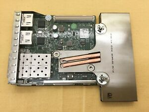 Dual 1GbE Network Daughter Card 165T0 Dell Broadcom 57800S Dual 10GbE SPF