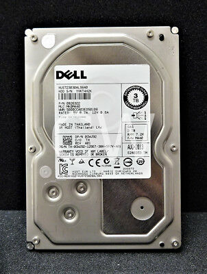 7200RPM Hitachi HUS723030ALS640 3TB SAS 3.5 HDD 6Gp//s
