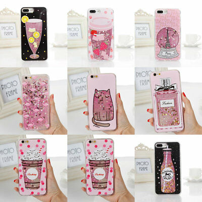 Soft Quicksand Cute Cartoon Protective Cover Cases For iphone 6/6S 7/7 Plus