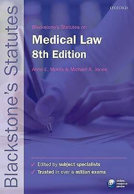 Blackstone's Statutes on Medical Law by Oxford University Press (Paperback, 2015