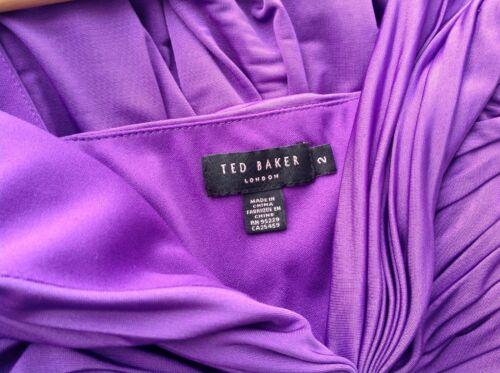 Pleat 10 Ted sera Purple Top Baker senza Size Cadbury 2 da London maniche Grecian AnpRn4B