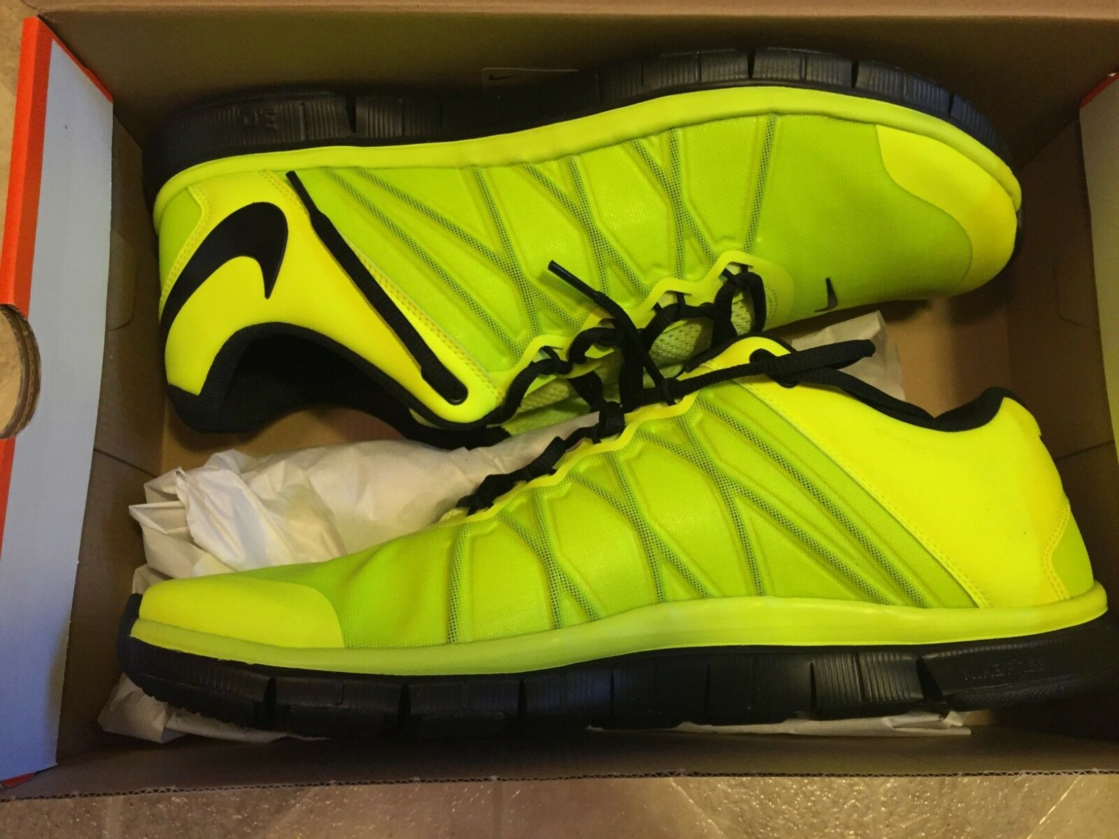 Nike Free Trainer 3.0 - Size 15 - Volt Black - Style  630856-701