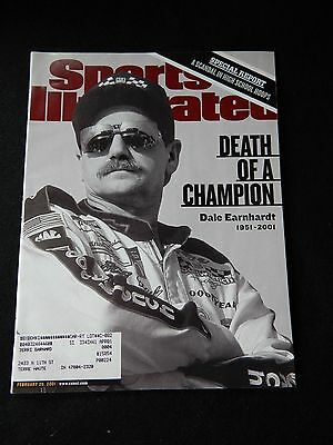 Sports Illustrated Feb 26, 2001-Dale Earnhardt-Death of a Champion