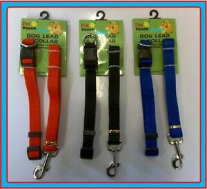 Matching Dog Collars And Lead