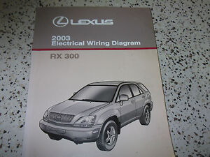 2003 lexus rx300 rx 300 electrical wiring diagram service shopimage is loading 2003 lexus rx300 rx 300 electrical wiring diagram