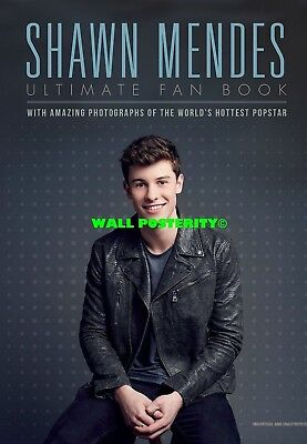 F SHAWN MENDES Choose Size /& Media Canvas or Poster Hip Hop Rap Poster