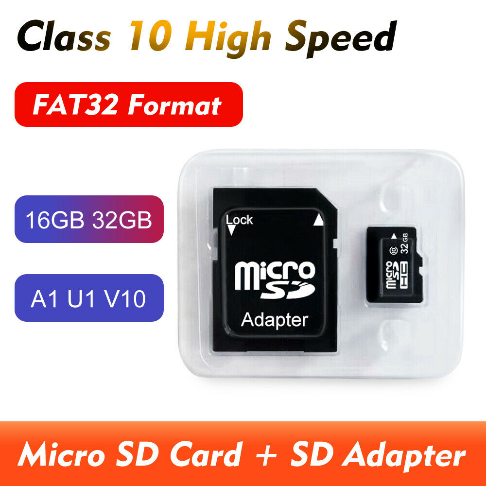 32G 16G Micro SD Card TF Memory Card U1 Class 10 For Mobile Tablet Drone Camera