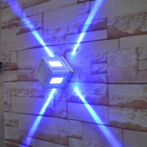 3-W-LED-Luz-de-la-pared-de-montaje-al-aire-libre-Lampara-Impermeable-Patio-Parque-Hotel-externo
