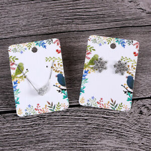 100-Pieces-Earrings-Studs-Necklaces-Jewelry-Ornaments-Paper-for-Display