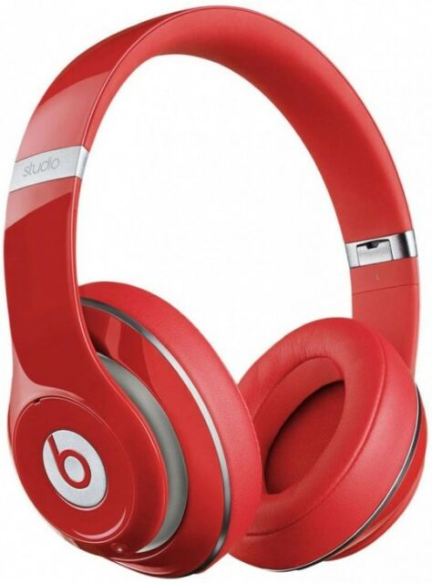 Beats by Dr. Dre Studio 2.0 Over-Ear Headphones Red