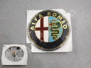 fregio-stemma-logo-ALFA-ROMEO-147-MITO-anteriore-ORIGINALE-front-EMBLEM