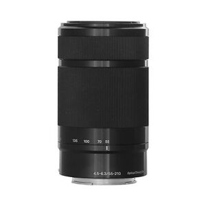 Sony E 55-210mm F4.5-6.3 Lens for Sony E-Mount Cameras Black