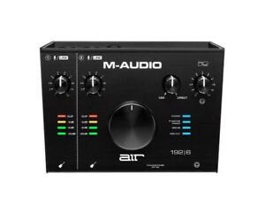 M-AUDIO AIR 192|6 2-In/2-Out 24/192 USB Audio/MIDI Interface, For Podcast, Live Streaming, and studio Recording Canada Preview