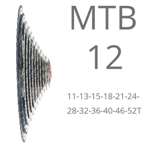 Bolany MTB 12  velocidades 52T Big Cassette Bicicleta De Montaña Rueda libre de piezas de ciclismo 710g  tienda de descuento
