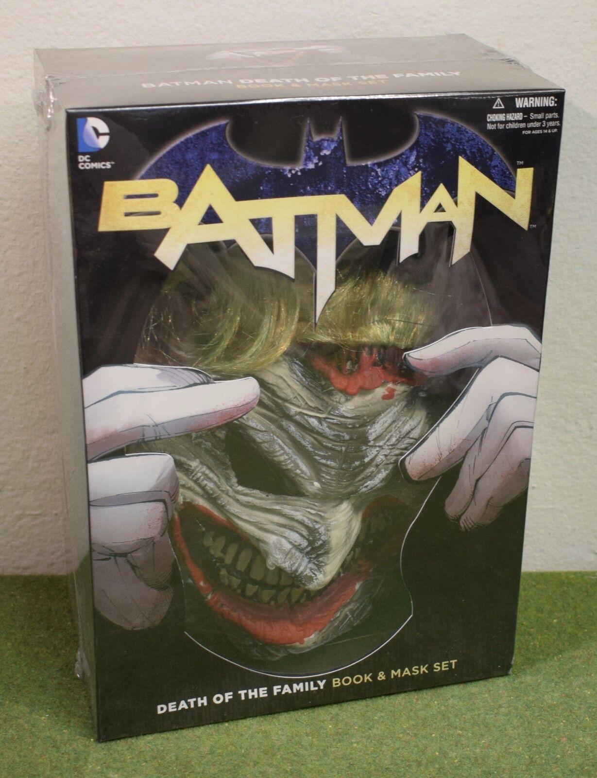 DC Comics Batman Muerte del libro de familia y conjunto de másCochea