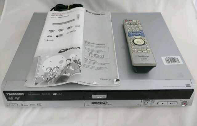 Panasonic DMR-EH50 DVD / HDD Recorder Playback With Remote + Manual