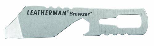 Stainless Steel Brewzer Keychain Bottle Opener Leatherman