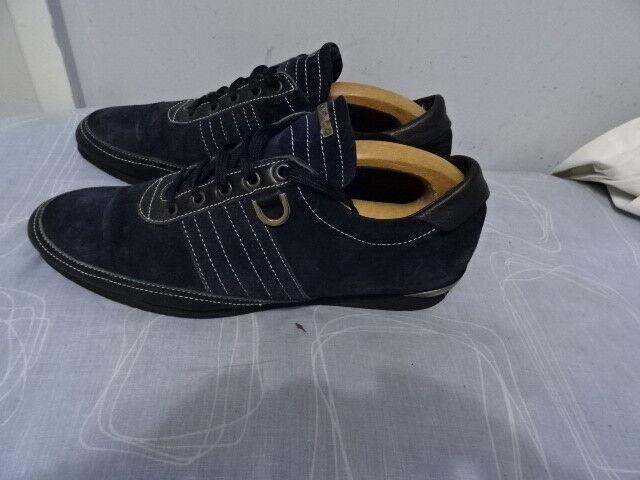 Herren Blau ALESSANDRO DELL ACQUA ITALIAN Blau Herren SUEDE/LEATHER Schuhe UK 7 GREAT CONDITION 364dae