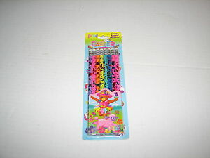 VTG Lisa Frank Easter Colorful Rainbow Foil Pencils Pack of 8 New MIP Lamb Bunny
